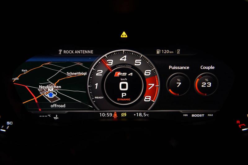 Audi A4 Avant RS4 Avant V6 2.9 TFSI 450 ch Tiptronic 8 Quattro  5p Rouge occasion à Castres - photo n°14