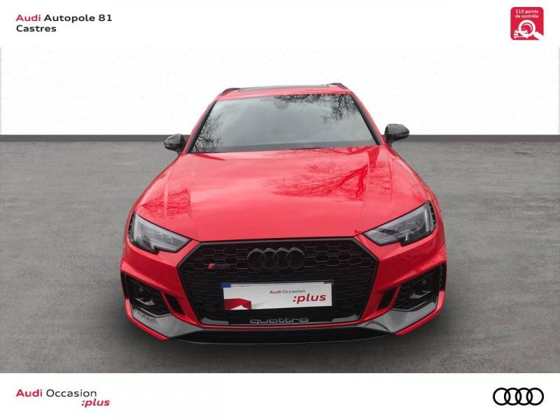 Audi A4 Avant RS4 Avant V6 2.9 TFSI 450 ch Tiptronic 8 Quattro  5p Rouge occasion à Castres - photo n°4