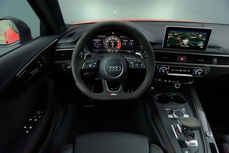 Audi A4 Avant RS4 Avant V6 2.9 TFSI 450 ch Tiptronic 8 Quattro  5p Rouge occasion à Castres - photo n°8
