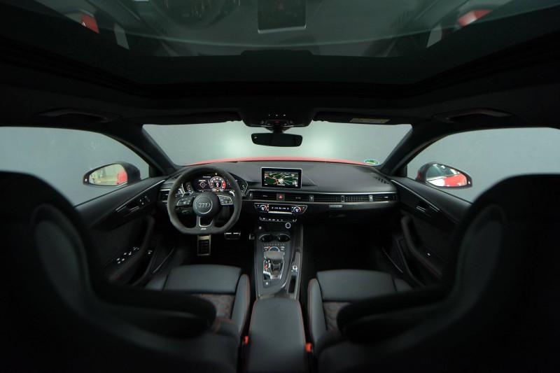 Audi A4 Avant RS4 Avant V6 2.9 TFSI 450 ch Tiptronic 8 Quattro  5p Rouge occasion à Castres - photo n°12