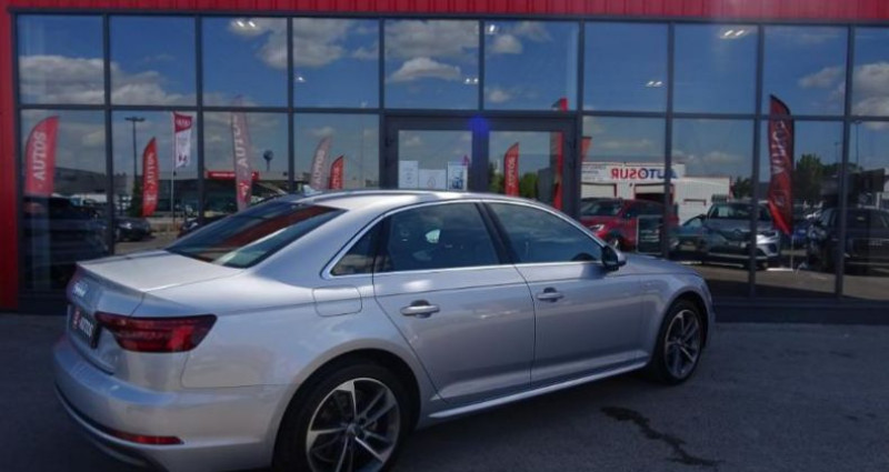 Audi A4 1.4 TFSI 150ch S line S tronic 7 Argent occasion à Barberey-saint-sulpice - photo n°2