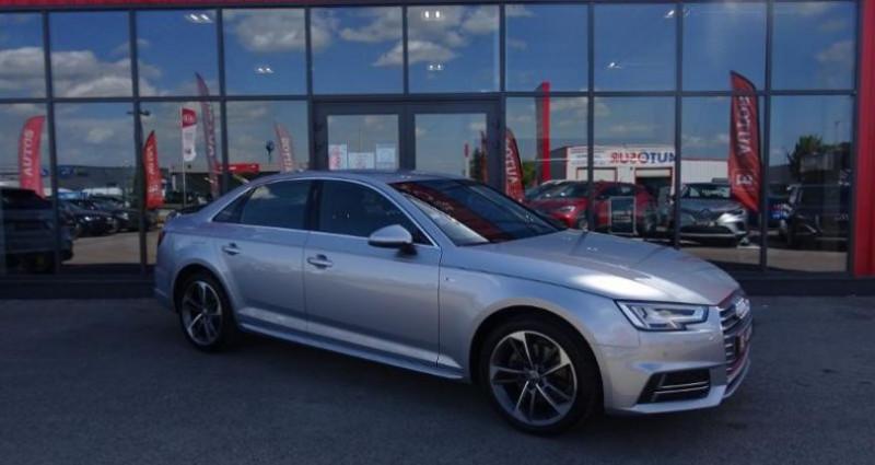 Audi A4 1.4 TFSI 150ch S line S tronic 7 Argent occasion à Barberey-saint-sulpice