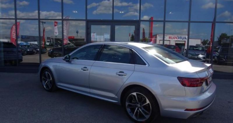 Audi A4 1.4 TFSI 150ch S line S tronic 7 Argent occasion à Barberey-saint-sulpice - photo n°4