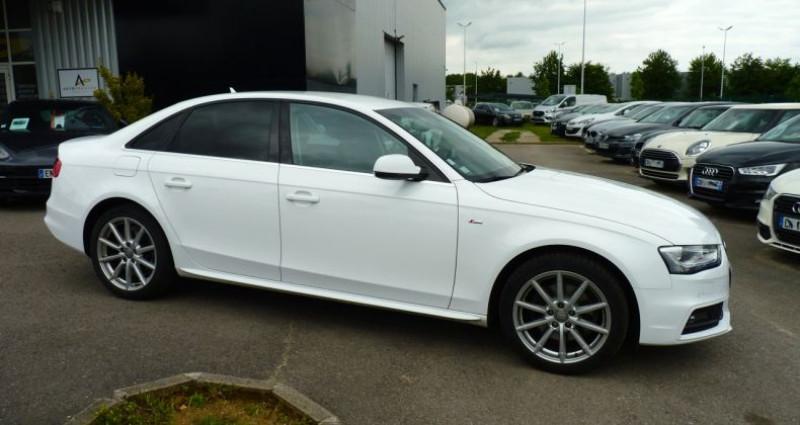 Audi A4 2.0 TDI 120 S-Line Blanc occasion à SAINT MAXIMUM - photo n°5