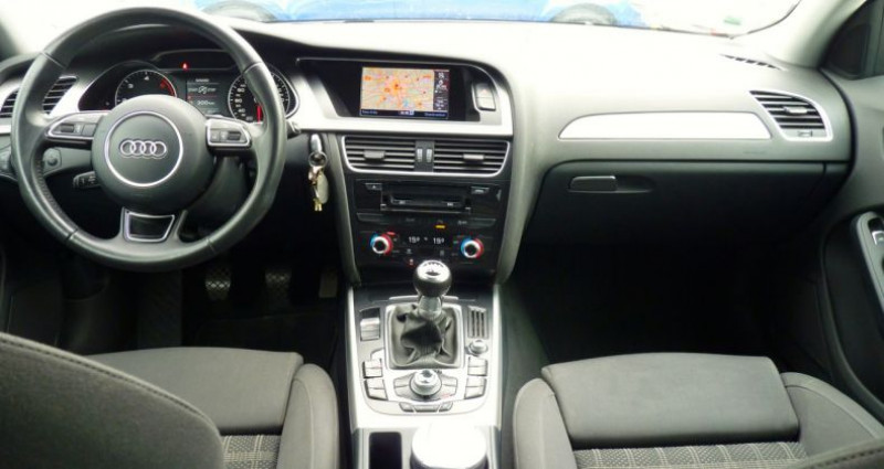 Audi A4 2.0 TDI 120 S-Line Blanc occasion à SAINT MAXIMUM - photo n°6