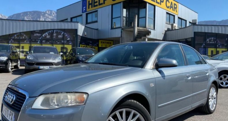 Audi A4 2.0 TDI 140CH DPF AMBITION LUXE QUATTRO Gris occasion à VOREPPE