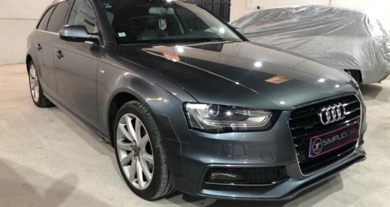 Audi A4 2.0 TDI 150 Quattro S Line Gris occasion à MONTPELLIER