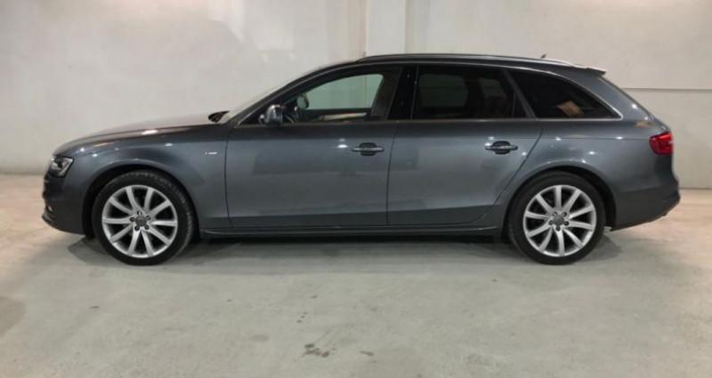 Audi A4 2.0 TDI 150 Quattro S Line Gris occasion à MONTPELLIER - photo n°4