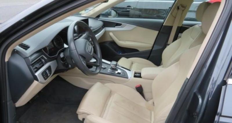 Audi A4 2.0 TDI 150CH BUSINESS LINE S TRONIC 7 Gris occasion à Juvisy sur Orge - photo n°7