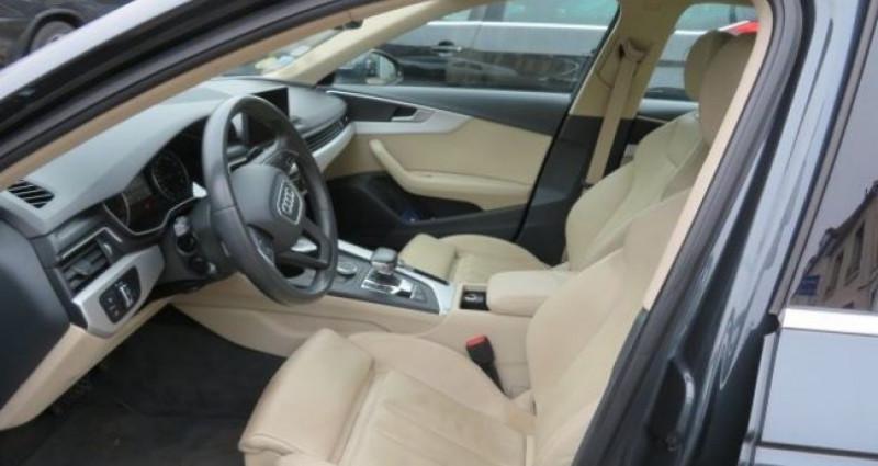 Audi A4 2.0 TDI 150CH BUSINESS LINE S TRONIC 7 Gris occasion à Juvisy sur Orge - photo n°4