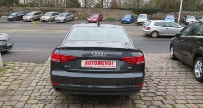 Audi A4 2.0 TDI 150CH BUSINESS LINE S TRONIC 7 Gris occasion à Juvisy sur Orge - photo n°3