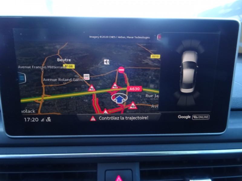 Audi A4 2.0 TDI 150CH S LINE S TRONIC 7 Gris occasion à Mérignac - photo n°16