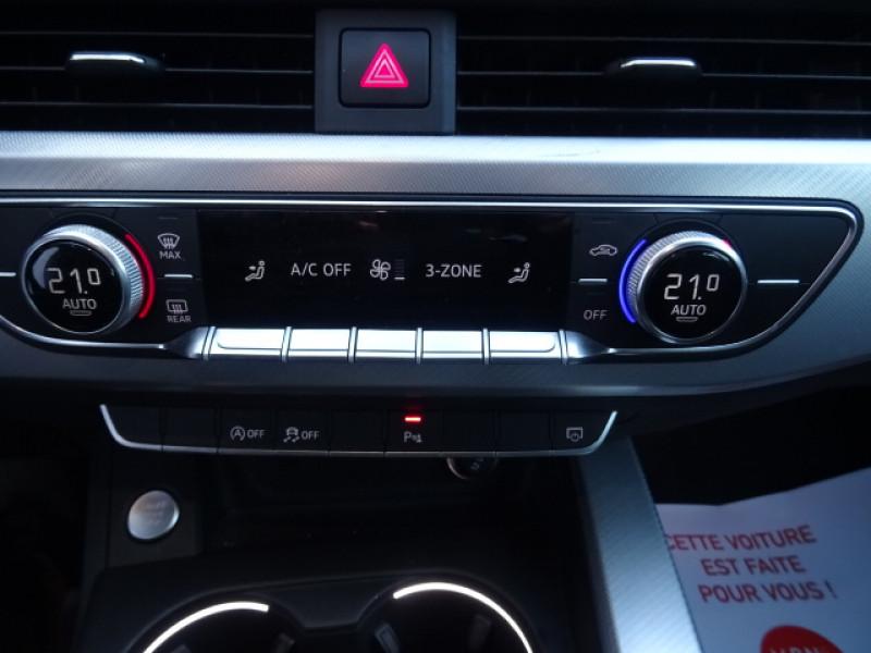 Audi A4 2.0 TDI 150CH S LINE S TRONIC 7 Gris occasion à Mérignac - photo n°15