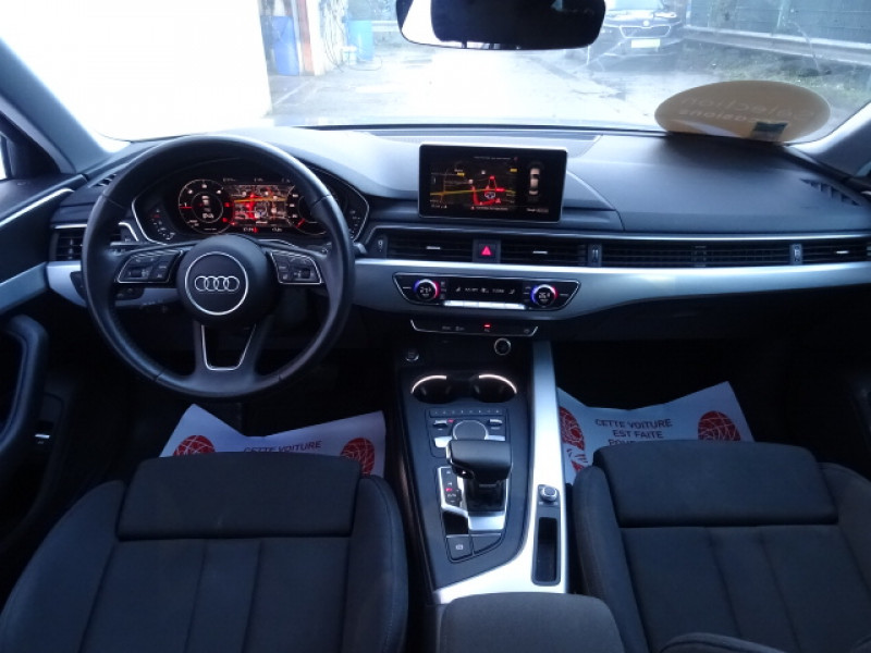 Audi A4 2.0 TDI 150CH S LINE S TRONIC 7 Gris occasion à Mérignac - photo n°10