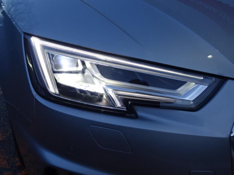 Audi A4 2.0 TDI 150CH S LINE S TRONIC 7 Gris occasion à Mérignac - photo n°6