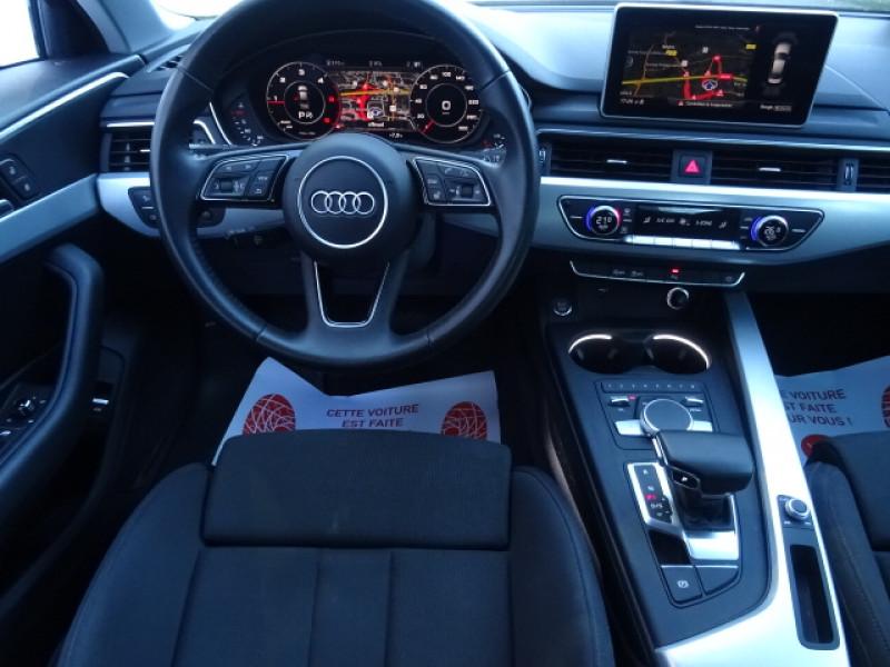 Audi A4 2.0 TDI 150CH S LINE S TRONIC 7 Gris occasion à Mérignac - photo n°11