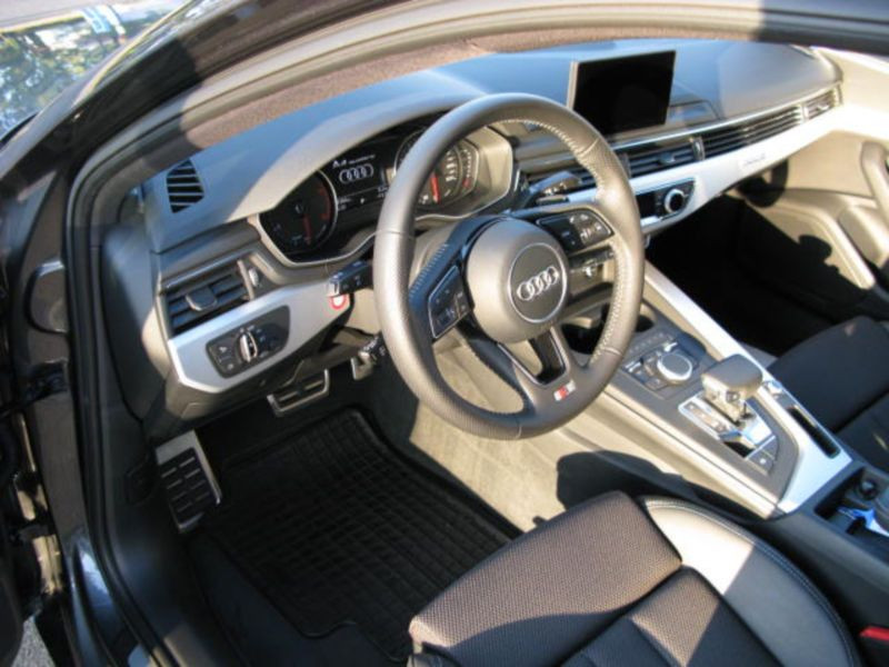 Audi A4 2.0 TDI Quattro 190 S Line Gris occasion à Beaupuy - photo n°2