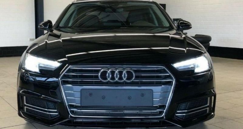 Audi A4 2.0 TFSI  190 S LINE S TRONIC (07/2017) Noir occasion à Saint Patrice - photo n°2