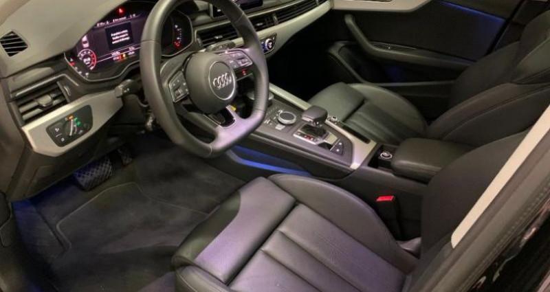 Audi A4 2.0 TFSI 190ch ultra Design Luxe S tronic 7 Noir occasion à Paris - photo n°3