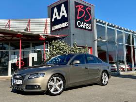 Audi A4 2.7 V6 TDI 190ch DPF S line Multitronic Marron occasion à Castelmaurou - photo n°1