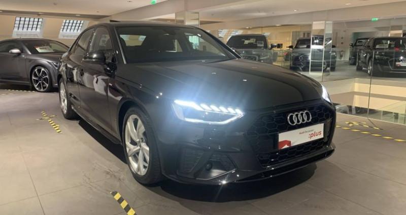 Audi A4 35 TDI 163 S tronic 7 S line Noir occasion à Saint-Ouen - photo n°2