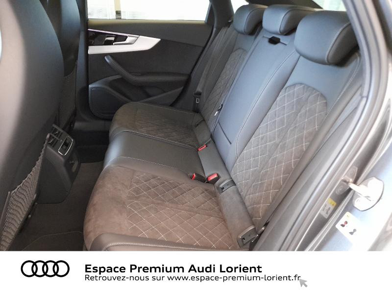 Audi A4 35 TDI 163ch S Edition S tronic 7 9cv Gris occasion à Lanester - photo n°8
