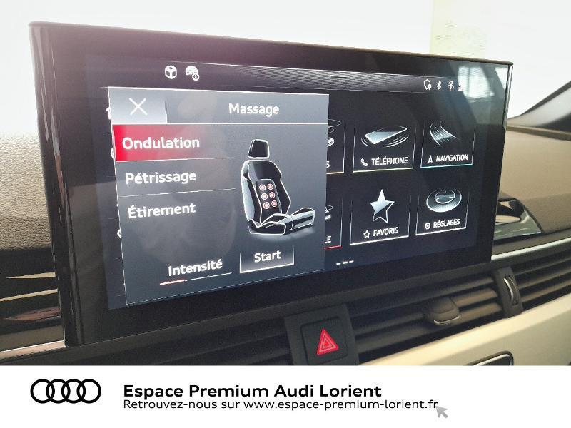Audi A4 35 TDI 163ch S Edition S tronic 7 9cv Gris occasion à Lanester - photo n°16