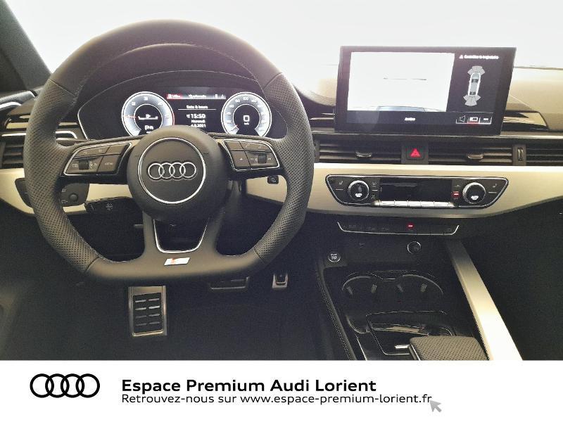 Audi A4 35 TDI 163ch S Edition S tronic 7 9cv Gris occasion à Lanester - photo n°6