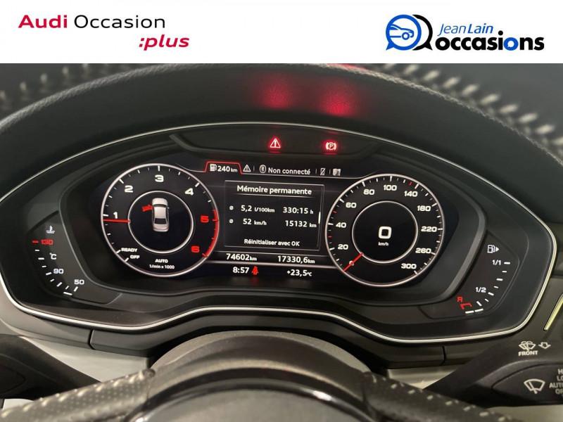 Audi A4 A4 2.0 TDI 150 S line 4p  occasion à Seynod - photo n°15