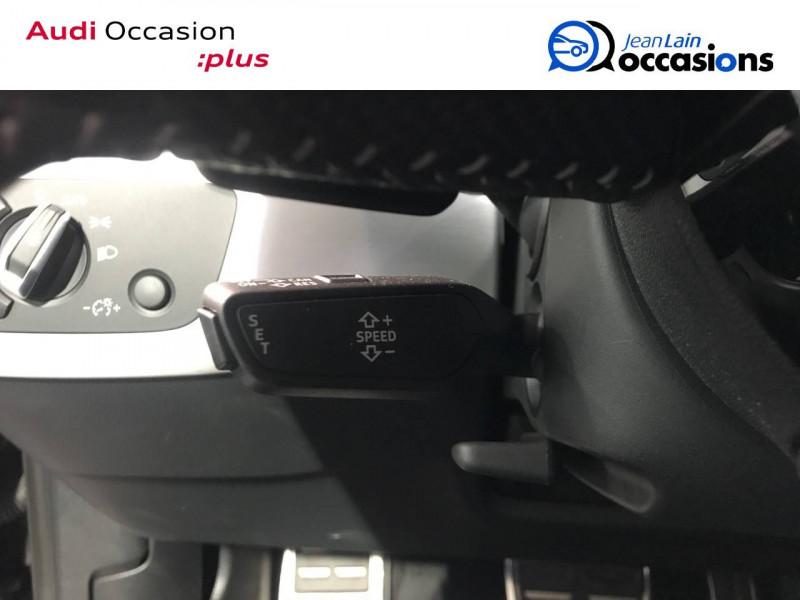 Audi A4 A4 2.0 TDI 190 S tronic 7 Quattro S line 4p Noir occasion à Annemasse - photo n°12