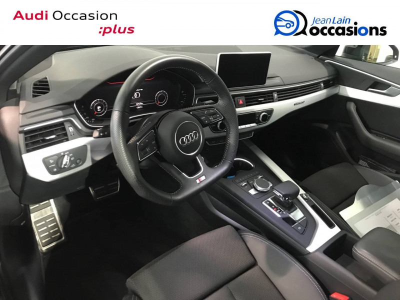 Audi A4 A4 2.0 TDI 190 S tronic 7 Quattro S line 4p Noir occasion à Annemasse - photo n°11
