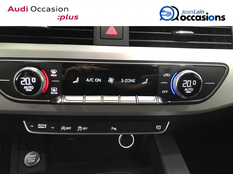 Audi A4 A4 2.0 TDI 190 S tronic 7 Quattro S line 4p Noir occasion à Annemasse - photo n°14