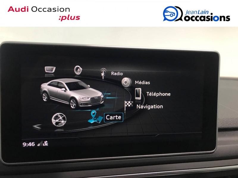 Audi A4 A4 2.0 TDI 190 S tronic 7 Quattro S line 4p Noir occasion à Annemasse - photo n°16
