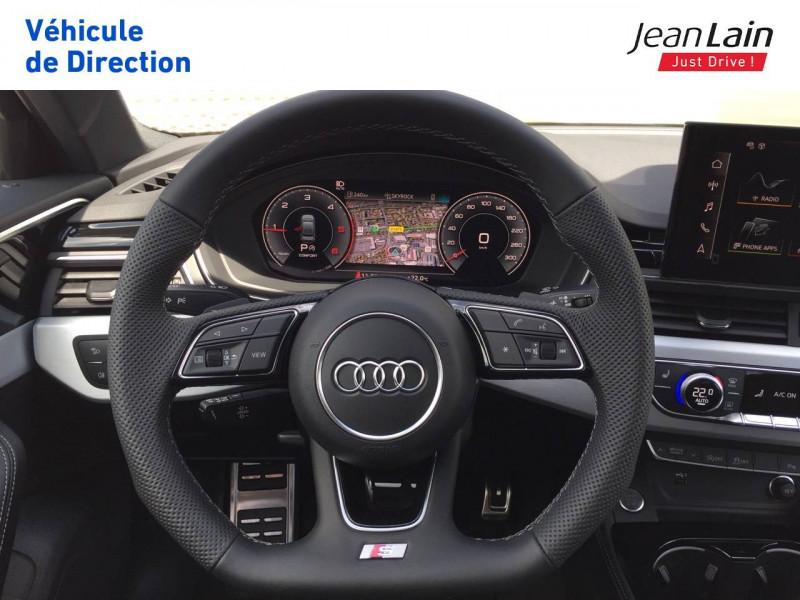 Audi A4 A4 40 TDI 204 S tronic 7 Quattro S Edition 4p Noir occasion à Échirolles - photo n°12