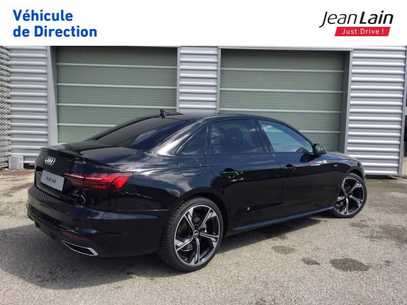 Audi A4 A4 40 TDI 204 S tronic 7 Quattro S Edition 4p Noir occasion à Échirolles - photo n°5