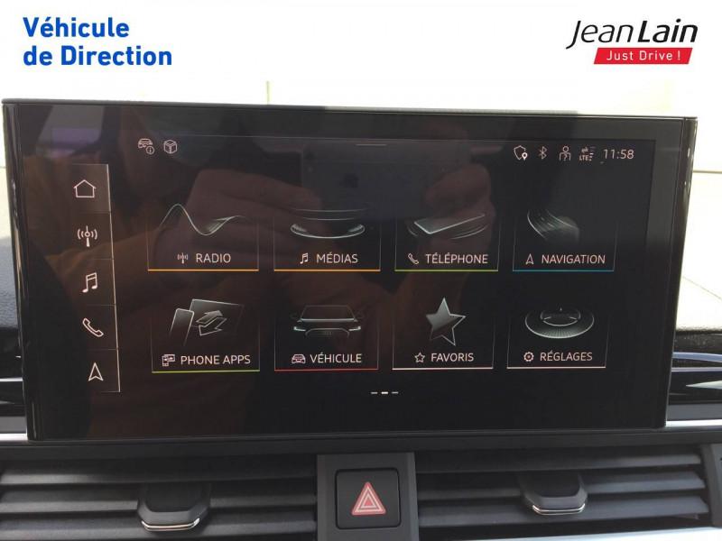 Audi A4 A4 40 TDI 204 S tronic 7 Quattro S Edition 4p Noir occasion à Échirolles - photo n°16