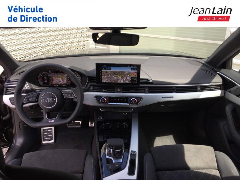Audi A4 A4 40 TDI 204 S tronic 7 Quattro S Edition 4p Noir occasion à Échirolles - photo n°18