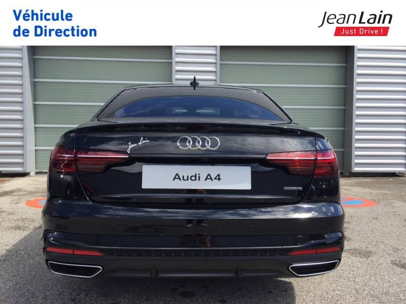 Audi A4 A4 40 TDI 204 S tronic 7 Quattro S Edition 4p Noir occasion à Échirolles - photo n°6