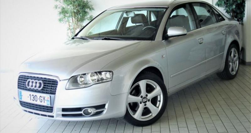 Audi A4 A4 III 2.0 TDI 140ch AMBITION MULTITRONIC Gris occasion à UNGERSHEIM