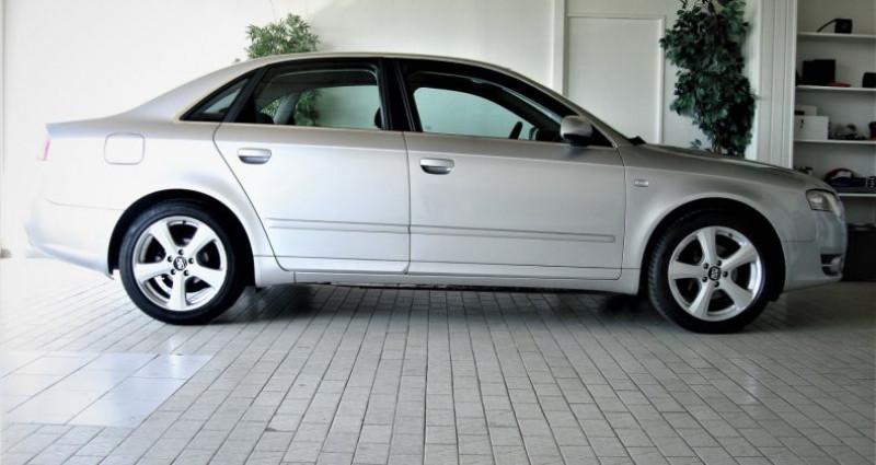 Audi A4 A4 III 2.0 TDI 140ch AMBITION MULTITRONIC Gris occasion à UNGERSHEIM - photo n°3