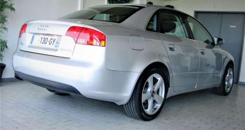 Audi A4 A4 III 2.0 TDI 140ch AMBITION MULTITRONIC Gris occasion à UNGERSHEIM - photo n°4
