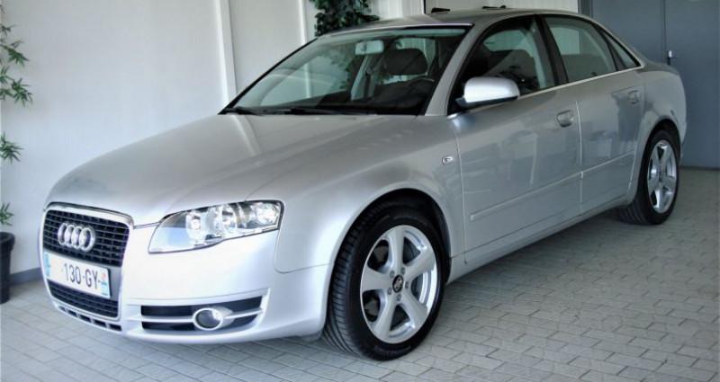 Audi A4 A4 III 2.0 TDI 140ch AMBITION MULTITRONIC Gris occasion à UNGERSHEIM - photo n°5