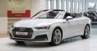 Audi A5 Cabriolet (2E GENERATION) 40 TFSI 190 II Cabriolet S Line S Tronic 7 Blanc à Tours 37