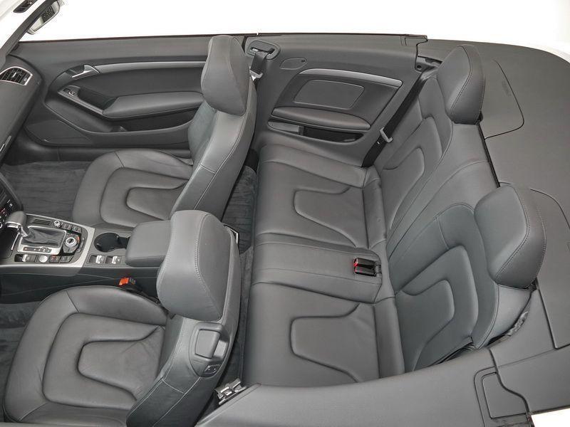 Audi A5 Cabriolet 1.8 TFSI 170 S Tronic Blanc occasion à Beaupuy - photo n°5