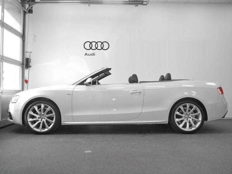 Audi A5 Cabriolet 1.8 TFSI 170 S Tronic Blanc occasion à Beaupuy - photo n°8