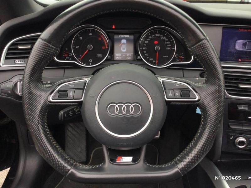 Audi A5 Cabriolet 2.0 TDI 190ch clean diesel S line Multitronic Euro6  occasion à Saint-Quentin - photo n°12