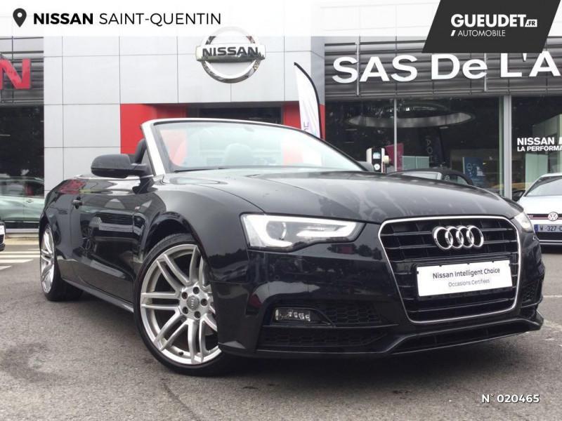 Audi A5 Cabriolet 2.0 TDI 190ch clean diesel S line Multitronic Euro6  occasion à Saint-Quentin