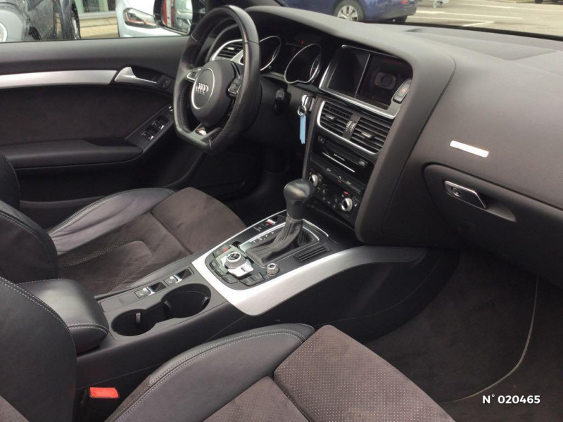 Audi A5 Cabriolet 2.0 TDI 190ch clean diesel S line Multitronic Euro6  occasion à Saint-Quentin - photo n°4
