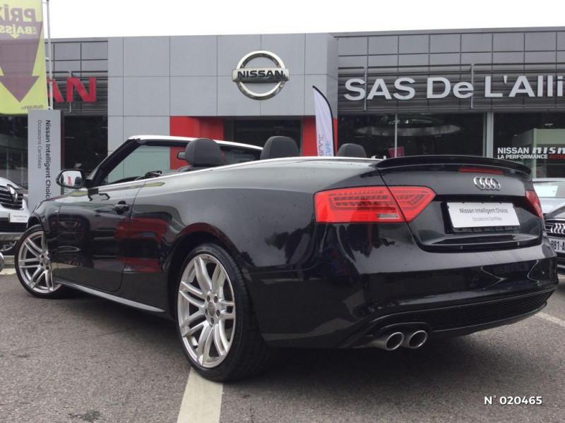 Audi A5 Cabriolet 2.0 TDI 190ch clean diesel S line Multitronic Euro6  occasion à Saint-Quentin - photo n°6