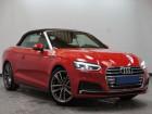 Audi A5 Cabriolet 2.0 TFSI 190 S Line S Tronic Rouge à Beaupuy 31
